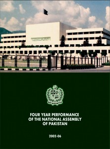 Four Years Performance Of The National Assembly Of Pakistan