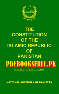 The Constitution of Pakistan English Version Pdf Free Download