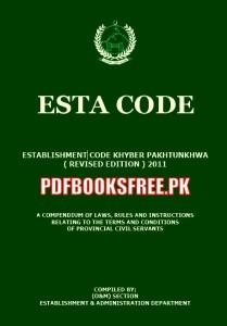 Esta Code 2011 Khyber Pakhtunkhwa