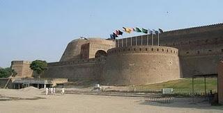 The Fort of Bala Hisar in Peshawar