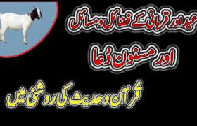 Qurbani Ke Fazail o Masail