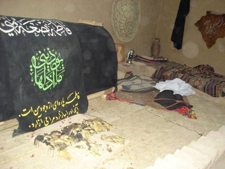 Hazrat Bibi Fatima r.a House at Madina (2)