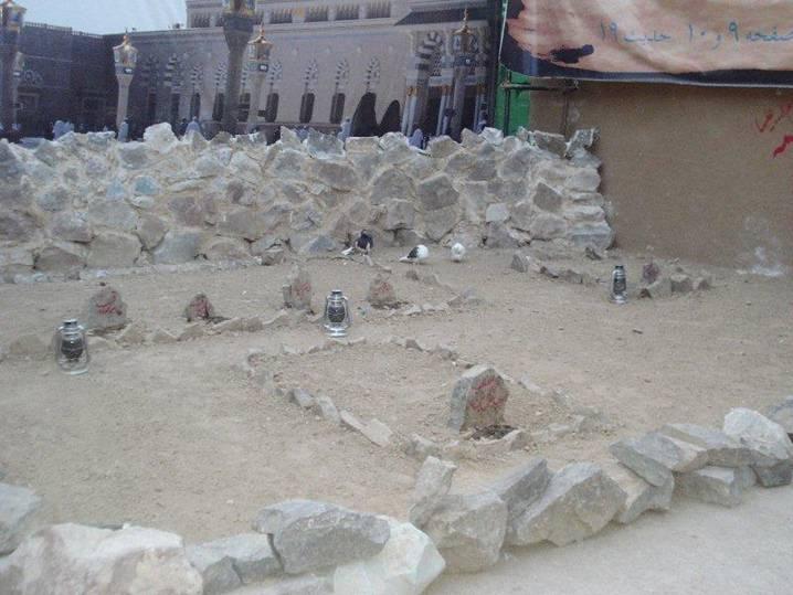 Hazrat Bibi Fatima r.a House at Madina (7)