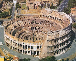The Colosseum Arena Of Rome
