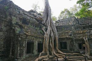 The Angkor Wat Temple of the Hindu God Vishnu