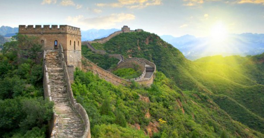 Pencil Sketches of the Great Wall of China