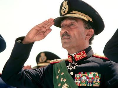 Muhammad Anwar Sadat Picture in Uniform