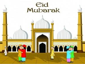Eid Al Fitr Mubarak 2013 Free Card