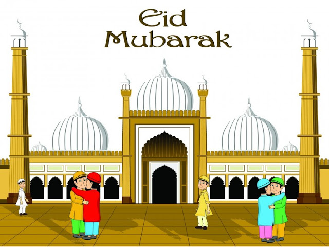Eid ul Fitr Greeting Cards and Best Wishes