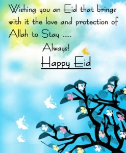 Happy Eid ul Fitr 2013 Greeting Cards