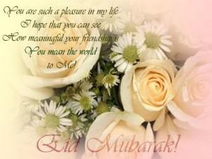 Many many Eid mubarat 2013