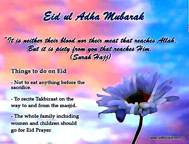 eid al adha to do list