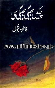 Palkain Bheegi Bheegi Si by Fakhra Batool