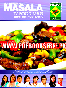 Masala TV Food Magazine March 2014 Pdf Free Download