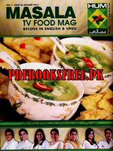 Masala TV Food Mag January 2015 Pdf Free Download