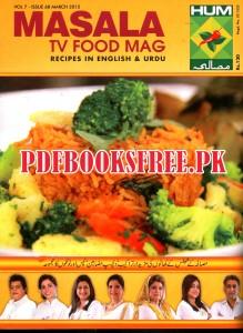 Masala Tv Food Magazine March 2015 pdf Free Download