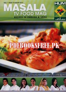Masala TV Food Mag August 2015 Free Download