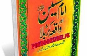Imam Hussain Aur Waqia e Karbala Book Pdf Free Download