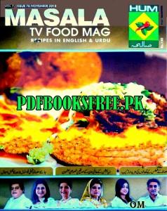 Masala TV Food Mag November 2015 Pdf Free Download
