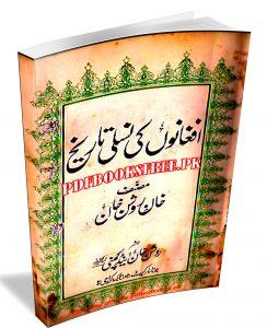 Afghano Ki Nasli Tarikh by Khan Roshan Khan Pdf Free Download