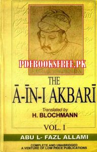 The Ain i Akbari English by Abul Fazl Allami Pdf Free Download