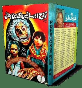 Badrooh Aur Saanpon Wale Behin Bhai Novel by A Hameed Pdf Free Download